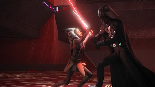 Ahsoka vs. Vader