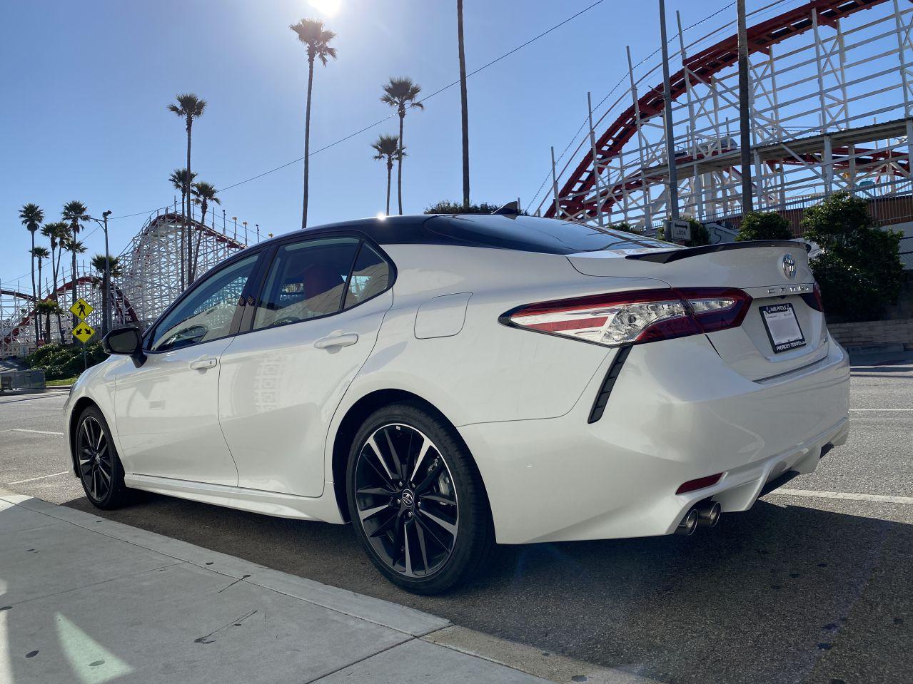 Toyota Camry XSE at Santa Cruz