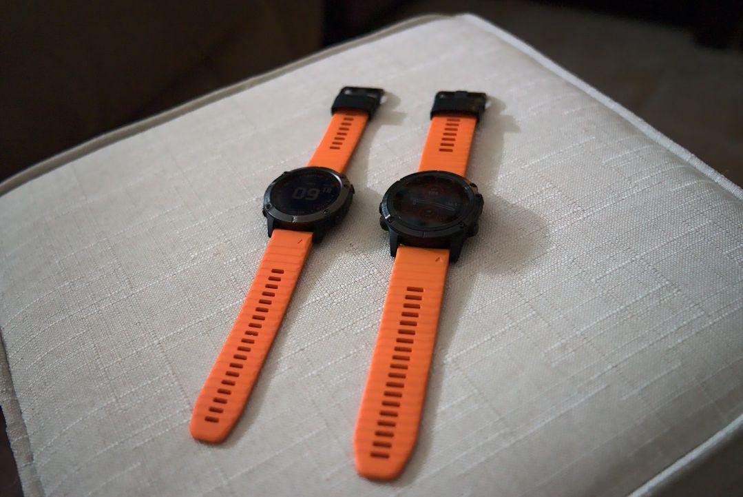 Double Fenix - Fenix 6 Sapphire + Fenix 5X Plus