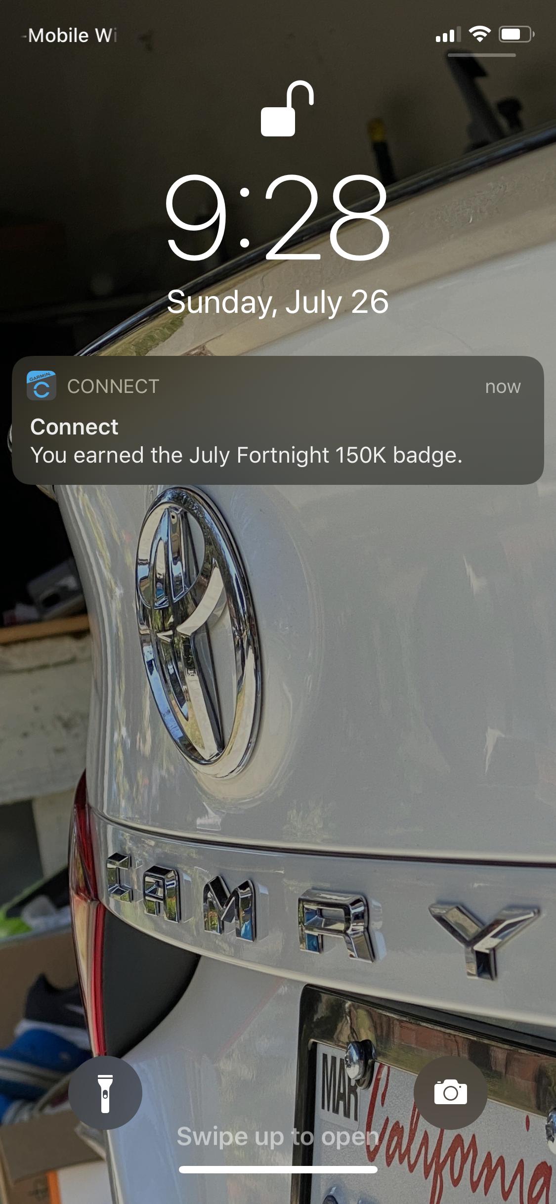 Garmin Connect Badge