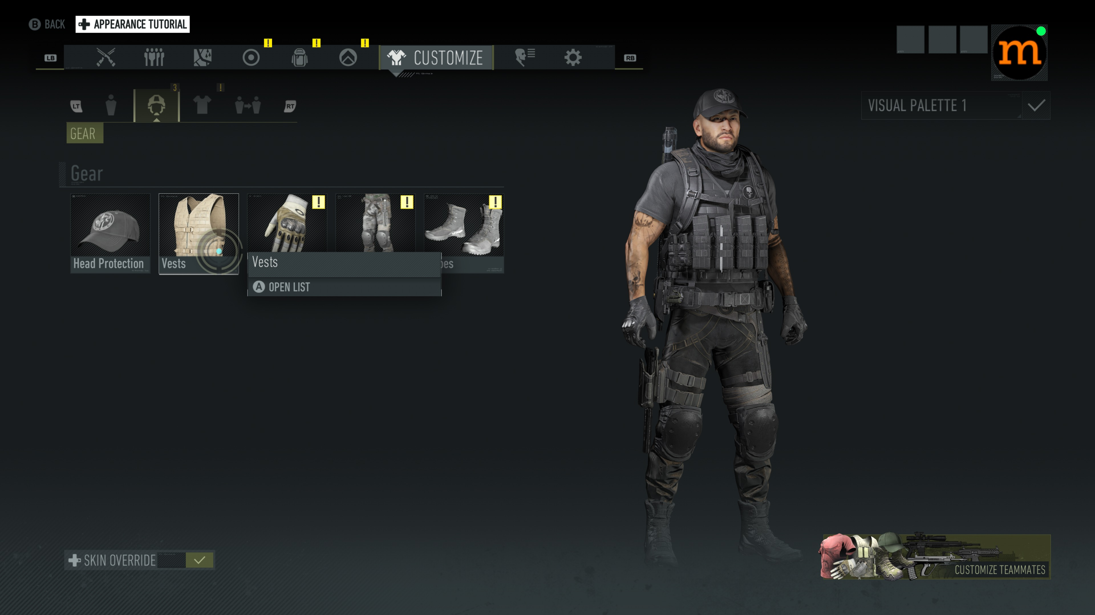 Ghost Recon Breakpoint Dress Up