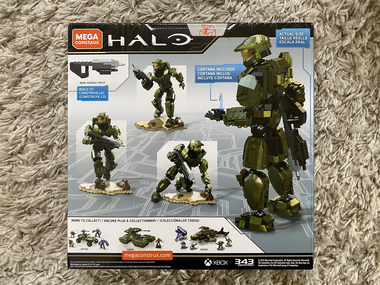 Halo: Mega Construx Back