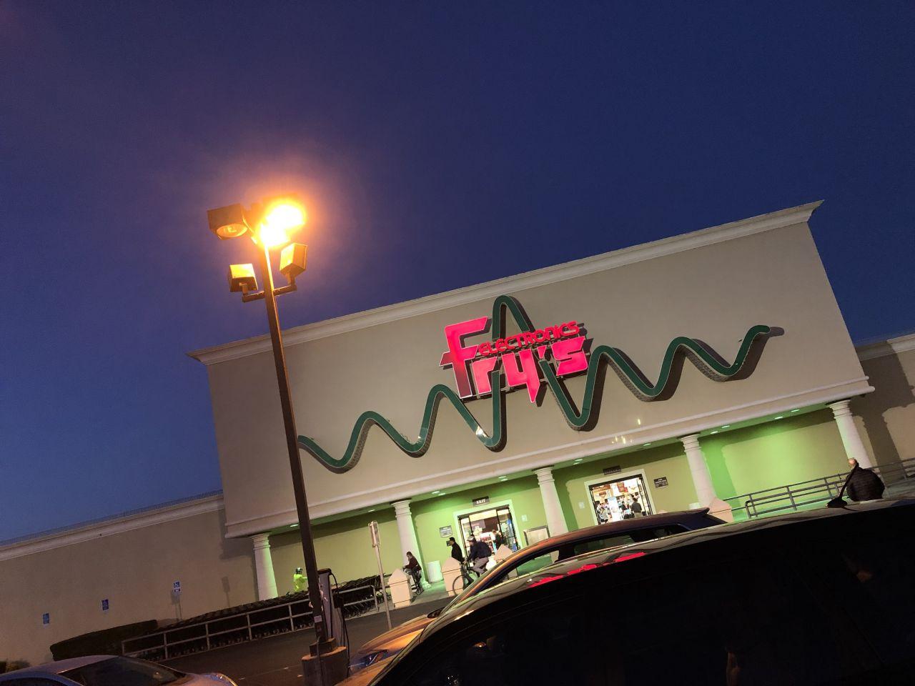 Fry's Electronics Sunnyvale Nighttime