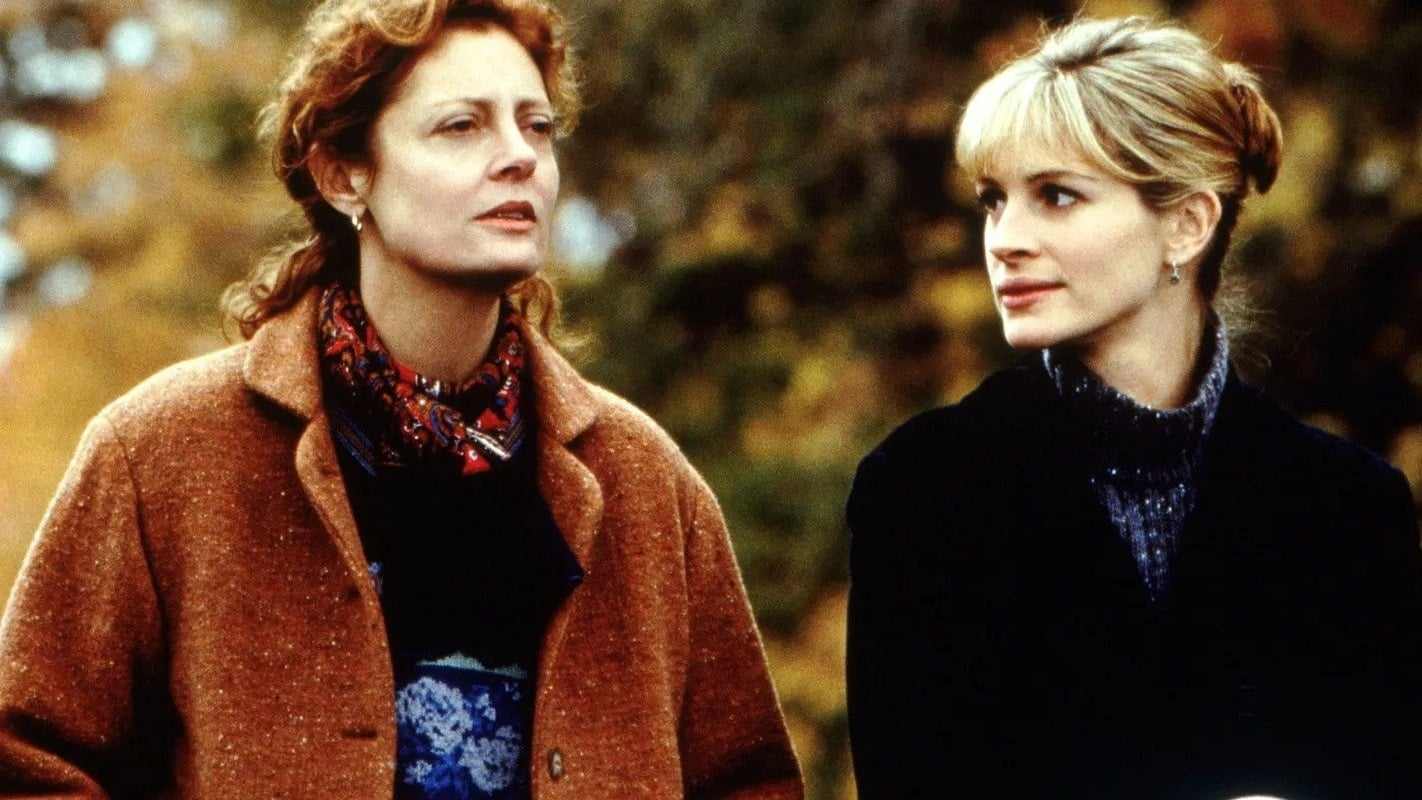 Susan Sarandon and Julia Roberts