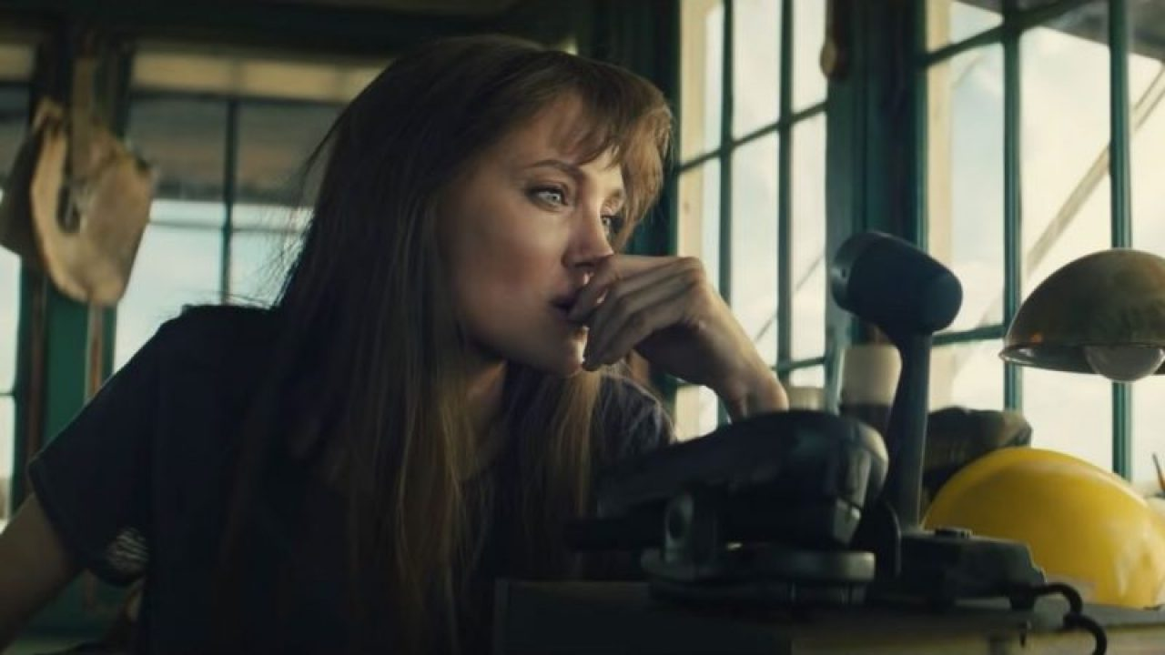 Angelina Jolie Pondering