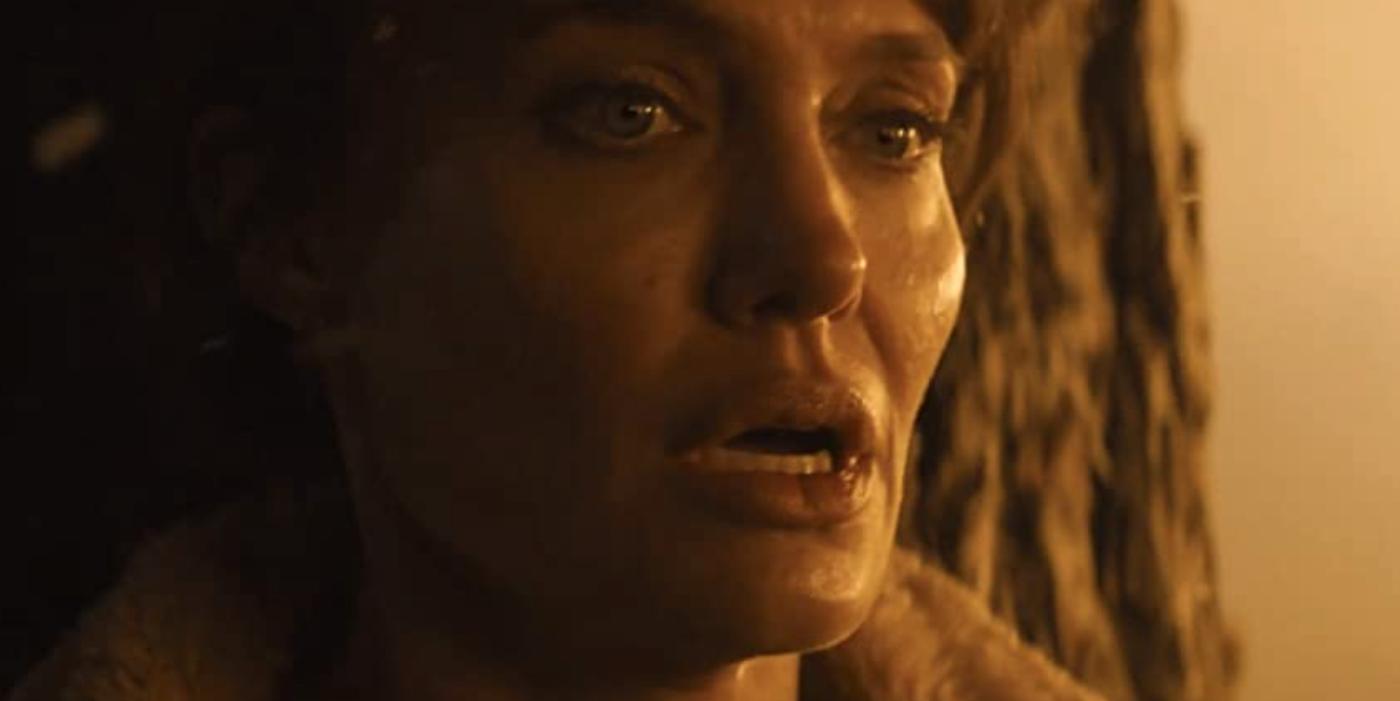 Sad Angelina Jolie