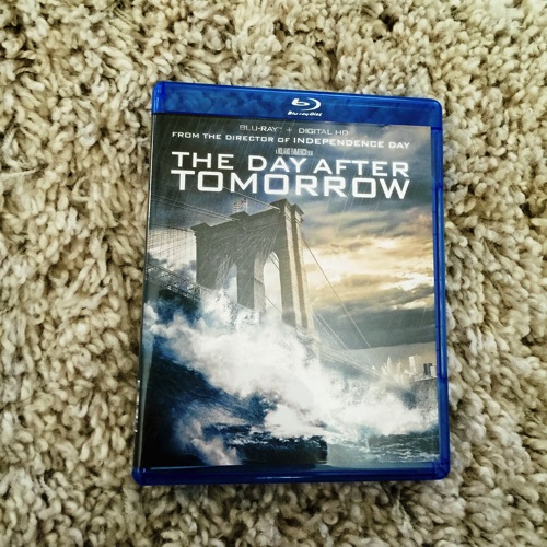 The Day After Tomorrow Blu-ray